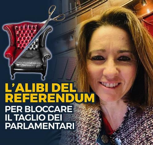 Alibi Referendum - Taglio Parlamentari